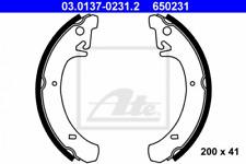 Bremsbackensatz für Bremsanlage Hinterachse ATE 03.0137-0231.2