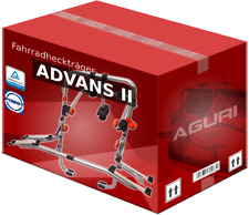 Heckklappenfahrradträger für 2 Räder Aguri Advans 2 Für Fiat 500 L 12>