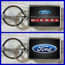 Ford Power Stroke Diesel Double Sided Metal Keychain