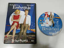 EMBRUJADA BEWITCHED DVD NICOLE KIDMAN WILL FERRELL ESPAÑOL ENGLISH REGION 2