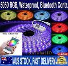 5050 RGB LED Strip Lights IP65 Waterproof 5M 300 LEDs 12V + Bluetooth Controller