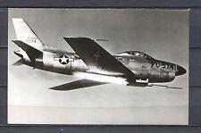 Postcard 1218 - Aircraft/Aviation Real Photo North American F-86D Sabre