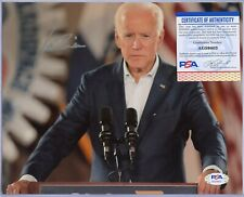 Joe Biden Presidential candidate Signed 8x10 Photo Autographed Auto Psa Coa