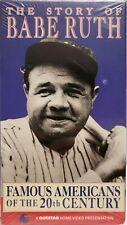 Story of Babe Ruth VHS 1991