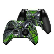 Xbox One Elite Controller Skin Kit - Emerald Abstract - DecalGirl Decal