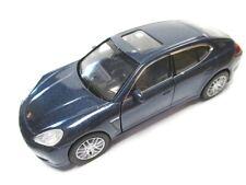Porsche Panamera S Metal Diecast Model Dark Blue Welly 1:3 6
