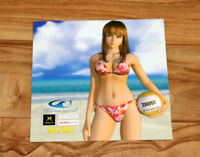 Old Xbox 2003 Dead or Alive Xtreme Beach Volleyball Calendar Rare Collectible