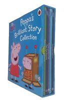 Peppa Pig 5 Book Box Set Fun Toddler Learning Story Nursery Kids Boy Girl  New