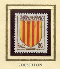 STAMP / TIMBRE FRANCE OBLITERE N° 1046 BLASON ROUSSILLON