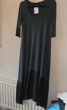 BNWT Join Clothes Jersey Maxi Dress with Luxe Panel at Hem Khaki Small