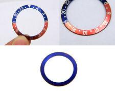Vintage Genuine Rolex GMT-MASTER Pepsi Blue Back Bezel Insert 4 watch 1675 16750
