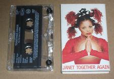 JANET JACKSON - TOGETHER AGAIN - CASSETTE TAPE SINGLE - 1997  CARD SLIPCASE