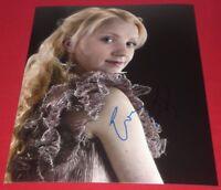 EVANNA LYNCH SIGNED HARRY POTTER HALF BLOOD PRINCE LUNA 8X10 PHOTO AUTOGRAPH COA