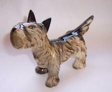 "Vintage AVON Ceramic SCOTTIE DOG Scottish Terrier FIGURE Ornament 4.5"" High"