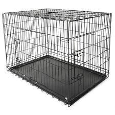 Hundetransportbox Größe XL Hundebox Hundekäfig Transportbox Gitterbox Drahtkäfig