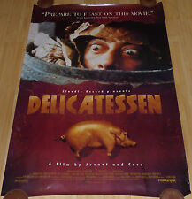 DELICATESSEN 1991 ORIGINAL ROLLED DS 1 SHEET MOVIE POSTER