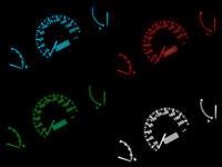 LETRONIX LED Tachobeleuchtung Farbig Umbauset Mitsubishi Colt Kein Löten P&P
