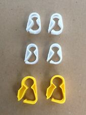 Plastic Tubing Clamp (Small) - 4 Pack +2 Large Clamps Suitable For Beer/Wine Ma