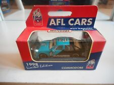 """Matchbox AFL Cars Commodore """"Port Adelaide Power"""" in Green/Black in Box"""