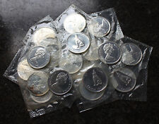 (20) 1967 Canada Proof Like PL Silver Half Dollars BU $10 Face Roll Canadian