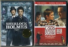 Sherlock Holmes Robert Downey Jr + Extremely Loud & Incredibly Close Tom Hanks
