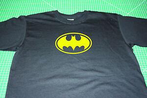 Batman T-Shirt (Batman and Robin) Black, Size Small