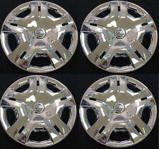"15""  CHROME Hubcap Wheelcover SET fits 2010 2011 2012 Nissan VERSA AM"