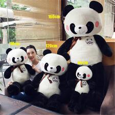 63'' Giant Panda Plush Soft Toy Big Teddy Bear Stuffed Animal Doll Kid Best Gift