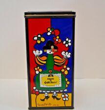 Vintage Advertising Collectible Tin Creme De Grand Marnier Liqueur Romero Britto