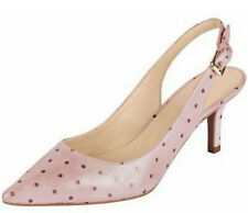 HEINE Slingpumps 36 Leder Rosa Antik Spain Stiletto Pumps Schuh Echtleder NEU