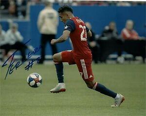 FC Dallas Jesus Ferreira Autographed Signed 8x10 MLS Photo COA #1