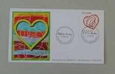 France 1er jour 4632 oblitéré 1er jour 13 01 2012 coeur adeline andré