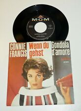 "CONNIE FRANCIS ""Wenn du gest"" 1962 PS 45 TOP Zustand ARCHIV M- MGM 60er Vinyl"