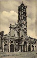 Rom Roma Italien Italia 1906 Chiesa di San Marin Gosmedin Kirche Kirchturm Turm