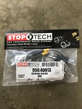 STOPTECH STAINLESS STEEL FRONT BRAKE LINE 08-14 HONDA ACCORD 950.40013
