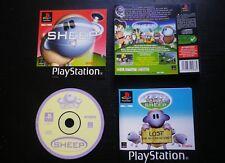 JEU Sony PLAYSTATION PS1 PS2 : SHEEP (SLES-02218 COMPLET envoi suivi)