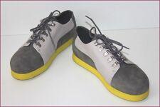 CAMPER BELUGA Zapatos K100004-003 GL Cuero Gris T 39 NUEVO