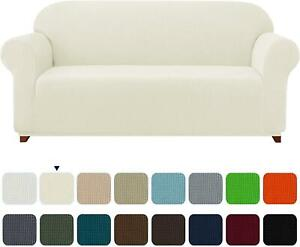 Stretch Sofa Cover Elastic Slipcover Protector Spandex Chair Sofa Couch 1-Piece