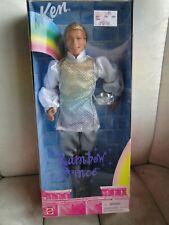 """Rainbow Prince Ken"" Barbie Doll 1999"