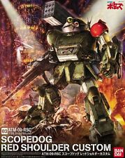 Armored Trooper Votoms ATM-09-RSC Scopedog Red Shoulder Custom 03 Model Kit 1/20