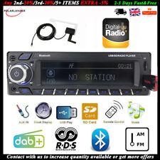 DAB+Car Radio 1Din Head Unit RDS AM FM Bluetooth MP3 Player Hands Free Stereo