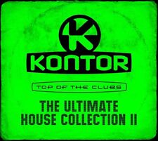 KONTOR TOP OF THE CLUBS - THE ULTIMATE HOUSE COLLECTION 2   3 CD NEU