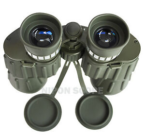 12x50WA military binoculars with extra large eye lenses. Wide field of view