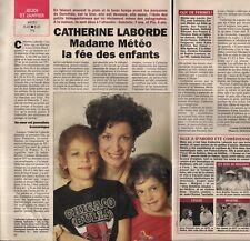 Coupure de presse Clipping 1994 Catherine Laborde (1 page 1/2)