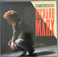"""Richard Marx – Don't Mean Nothing 12"""" + Poster"""