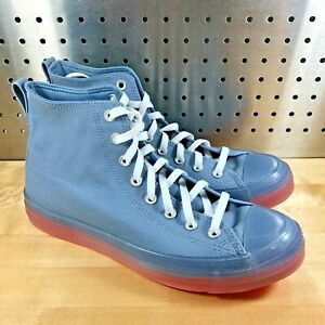 Converse Chuck Taylor All Star CX CONCEPTS High Blue Grey Sneakers 167808C 11.5