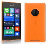Nokia Lumia 830 16GB Orange Unlocked A *VGC* + Warranty!!