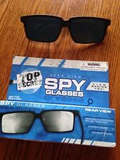 Top Secret Rear View Spy Glasses Sun Glasses Set of 2 (1 Used- 1 New)