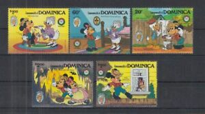 F466. Dominica - MNH - Cartoons - Disney's - Tom Sawyer