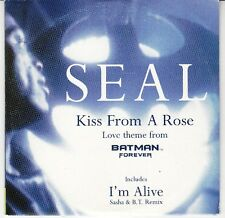 CD SP 2 T SEAL *KISS FROM A ROSE* (LOVE THEME FROM BATMAN FOREVER)